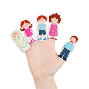 Paper Finger Puppets