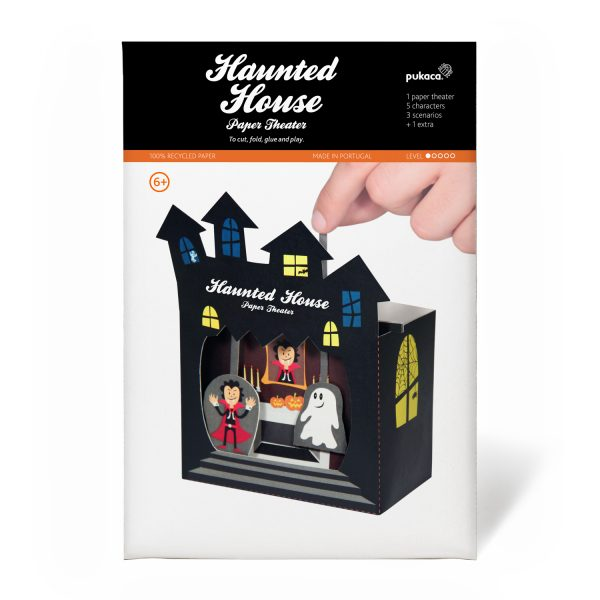Haunted House Paper Theater