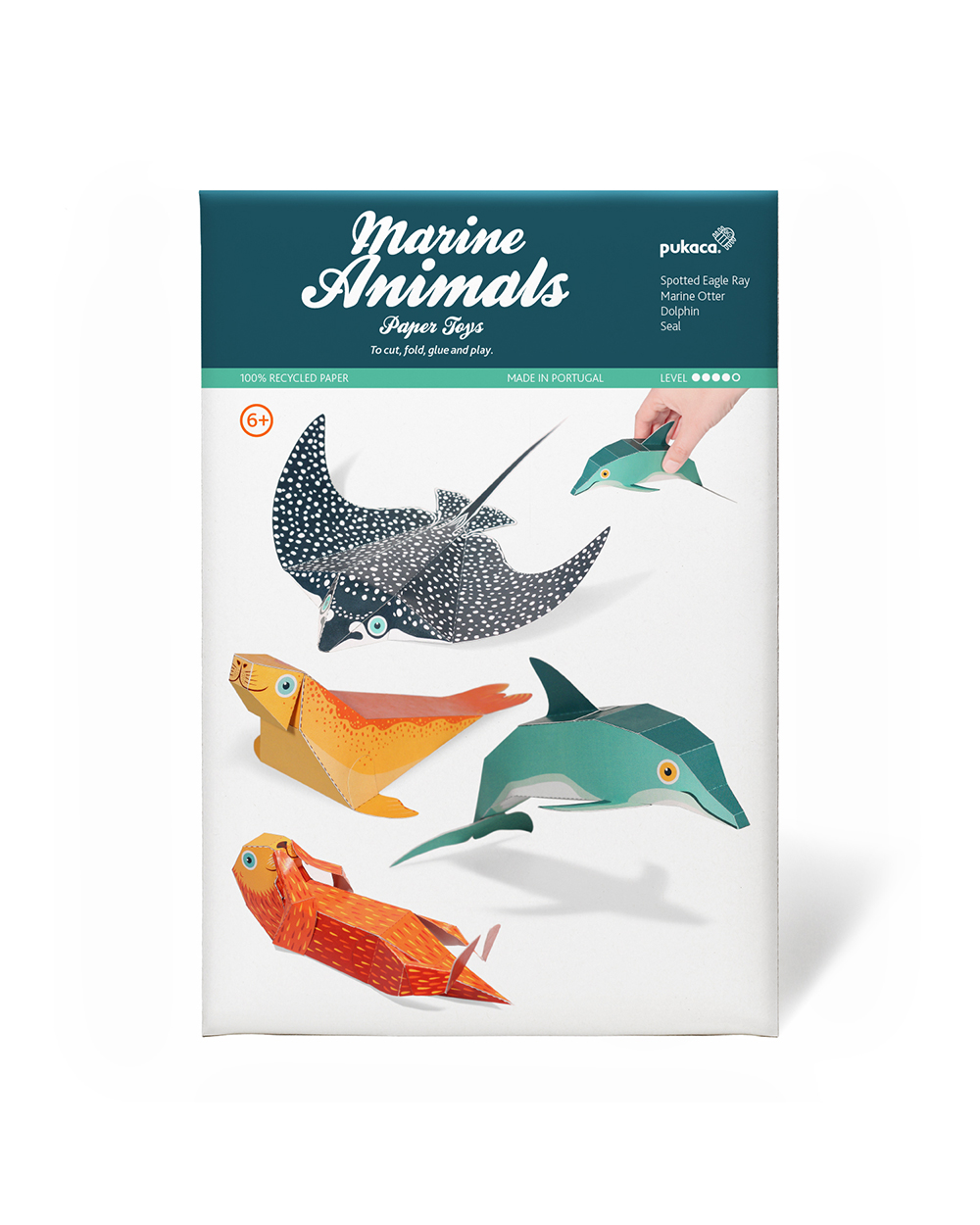 Marine Animals Paper Toys