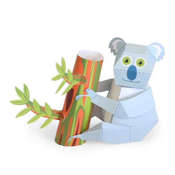 Maxi Koala Paper Toys