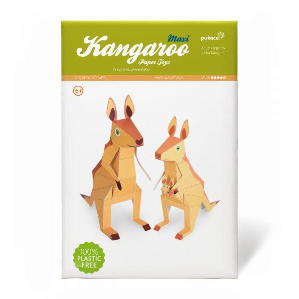 Maxi Kangaroo Paper Toys