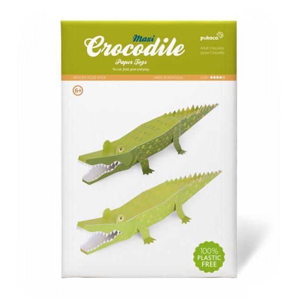 Maxi Crocodile Paper Toys