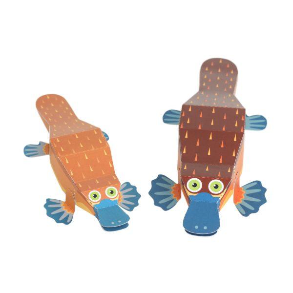 Maxi Platypus Paper Toys