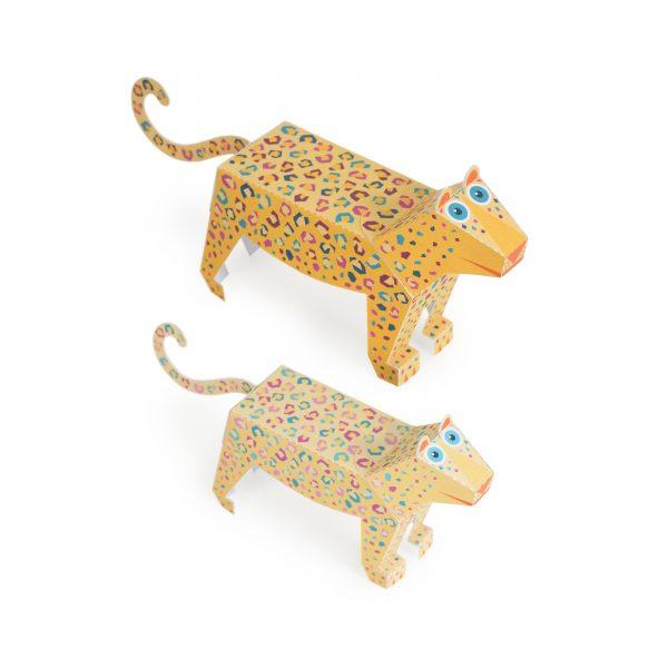 Maxi Leopard Paper Toys