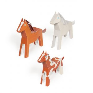Horses Paper Toys