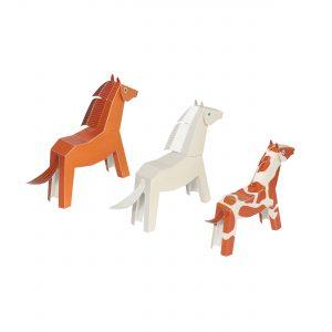 Horses Paper Toys