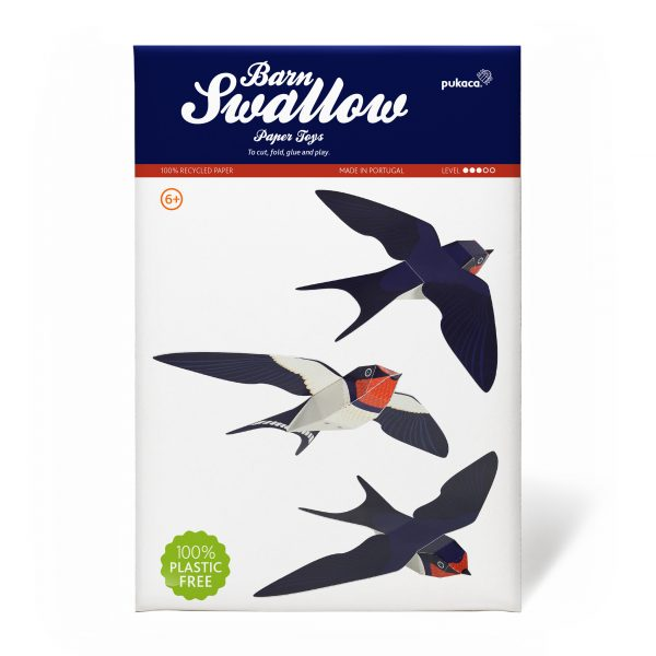 Barn Swallow Paper Toys