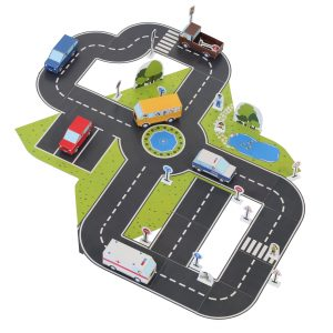 Cars Paper Toy
