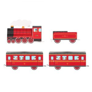 Train Paper Toy
