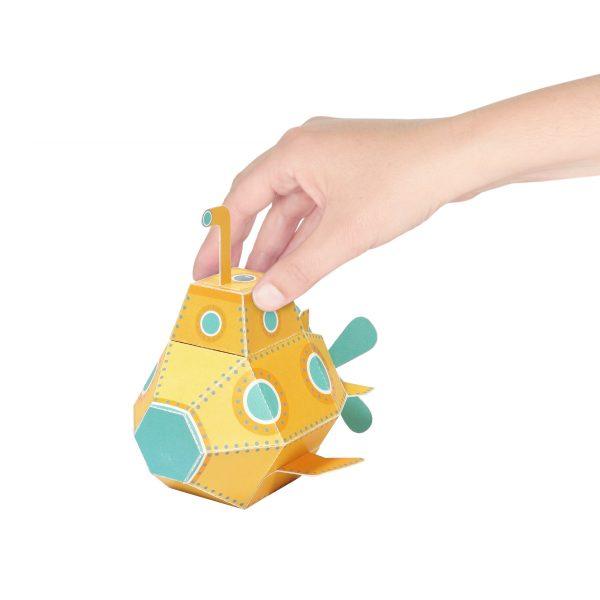 Submarine Paper Toy