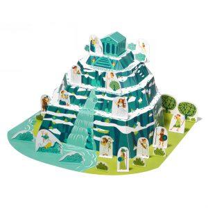 Mount Olympus Paper Toy