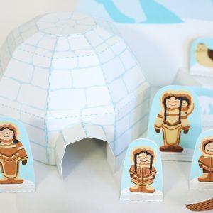 Arctic Paper Toy