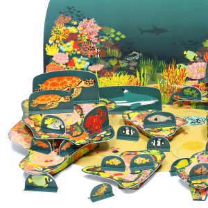 Coral Reef Paper Toy