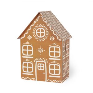 Gingerbread House Paper Toy