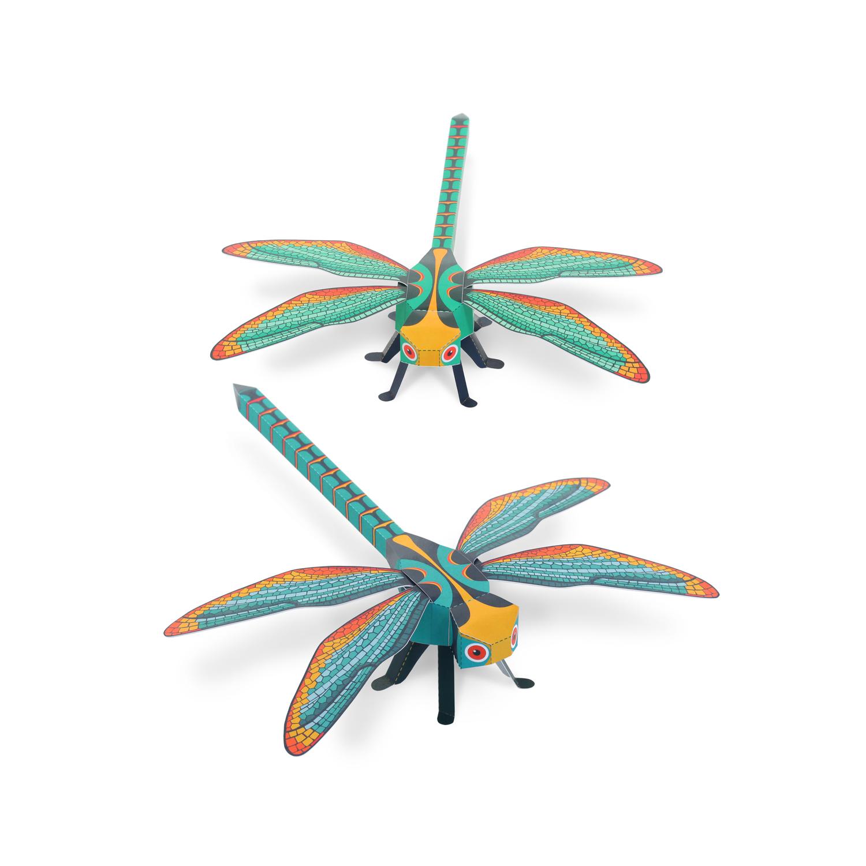 Dragonflies Paper Toys