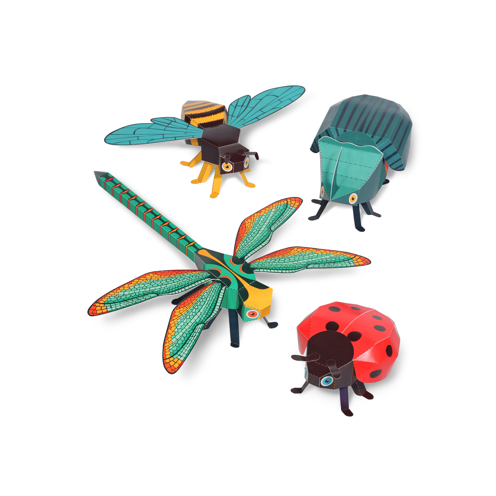 Bugs Paper Toys