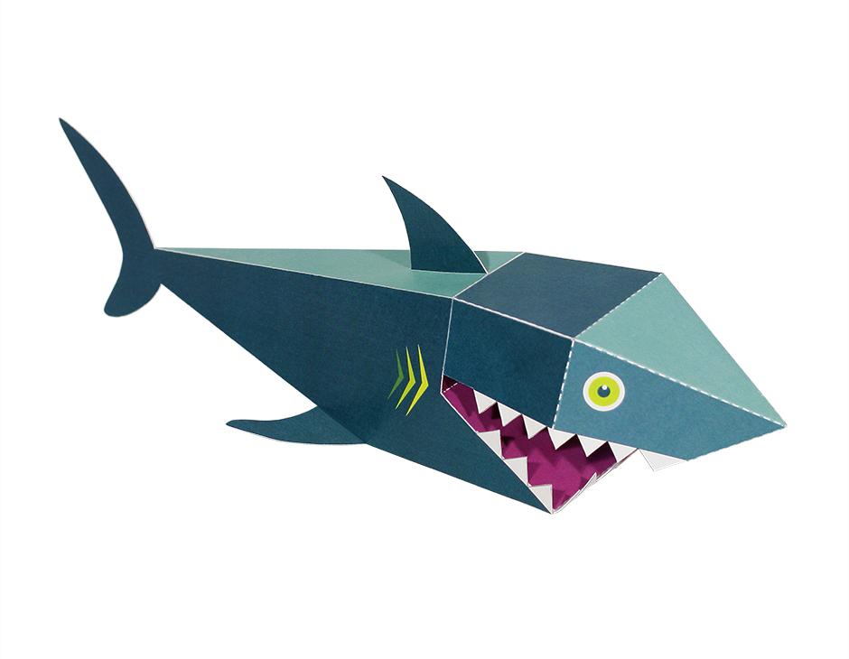 Sea Animals Paper Toys