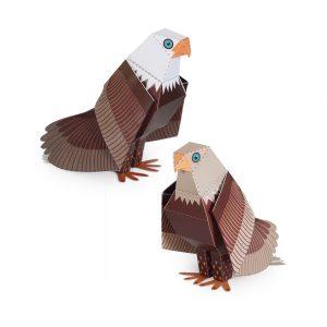 Maxi Bald Eagle Paper Toys