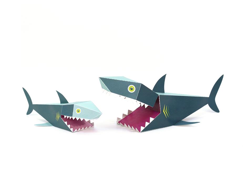 картинки акула схемы из бумаги снегирей поют