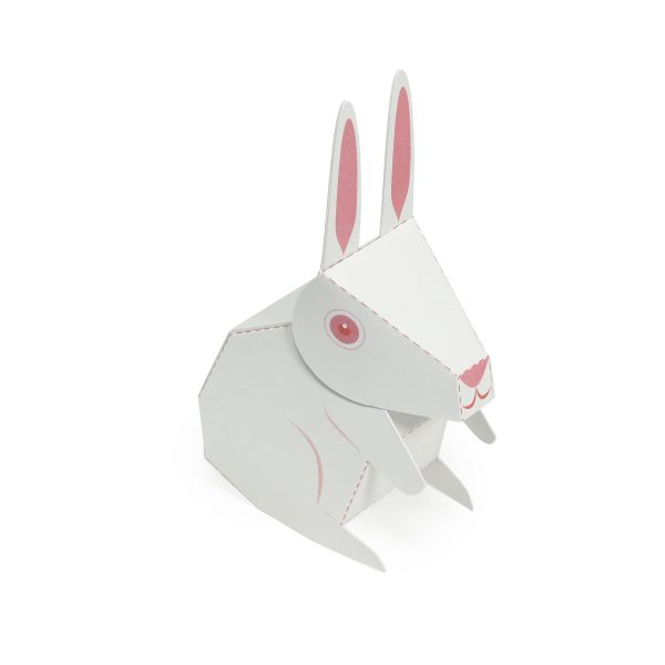 Rabbits Paper Toys