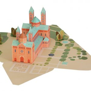 Speyer Cathedral Paper Toy
